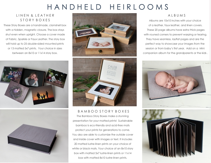 hand held heirlooms information page